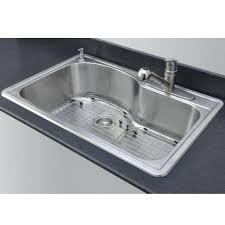 one basin kitchen sink sink single basin kitchen sink vs double drop within amusing drop in stainless steel kitchen sinks