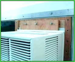window ac bracket installing unit metal sideways . Window Ac Bracket Unit Stunning Air Conditioner 5