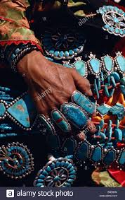zuni indian jewellery new mexico usa north america