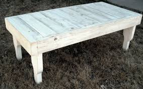 reclaimed wood coffee table in antique