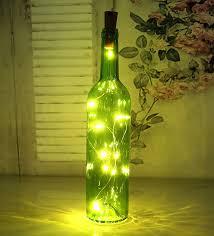 Decorative Bottle Lights Di Grazia 12 Inch Tall Led Decorative Bottle Lights Amazon