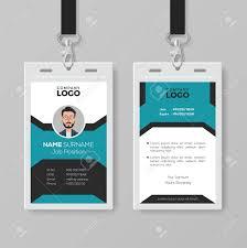 Creative Employee Id Card Template