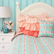 Peach Bedroom Decorating Caden Lane Baby Bedding Lovely Coral Lace Duvet 17800 Http