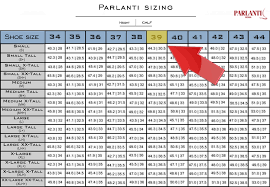 shoe size chart width parlanti passion sizing guide official parlanti shop