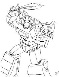 Free Printable Transformers Coloring Pages For Kids Line Art
