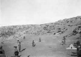 anzac spirit and legend gallipoli iers playing cricket 1915