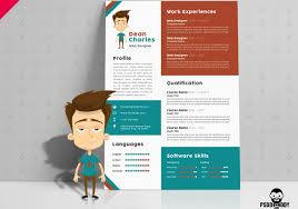 019 Designer Resume Template Free Unique Templates Astounding Ideas