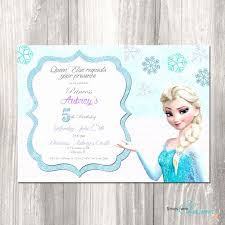 elsa birthday invitations elsa frozen birthday card best of frozen birthday invitation