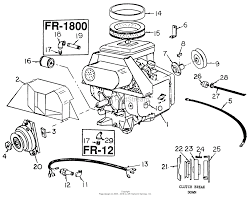 Nice diagram of briggs and stratton lawn mower engine image wiring