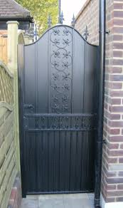 Small Picture Security Gate Plans Trends And Metal Garden Doors Home Outdoor