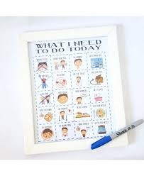 Shop Authentic Boy Behaviour Chart Whiteboard Toddler