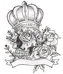 Motiv Tetování Lebky Atd 1396