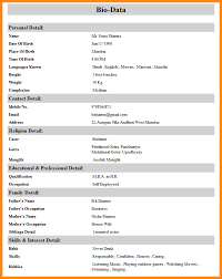 marriage biodata in english how make marriage biodata for biodata 2 primary drawing webtrucks info