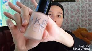 cara memakai make up natural