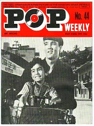 Details About Pop Weekly Magazine 44 1st Series W E 29th June 1963 Elvis The Beatles Etc