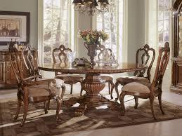 round dining room set. Villa Cortina Round Dining Table Room Set H