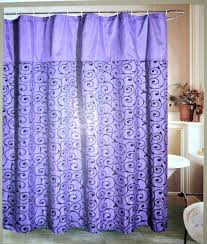 purple and silver shower curtain. Oxford Studio Flocked Purple And Black Shower Bathtub Curtain With 12 Silver