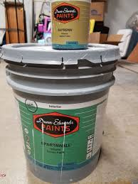 gallon paint in sparkling frost color