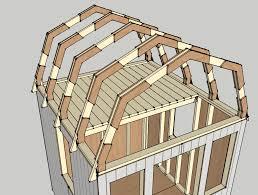 Gambrel Roof Design Hip Shed Plans Roofs  Home Plans U0026 Blueprints Gambrel Roof Plans