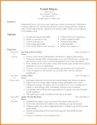 Resume For Server Bartender Resume Server Examples Noxdefense Com