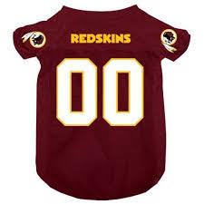 Officially Licensed Washington Redskins Dog Jersey Dress