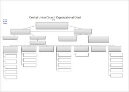 Blank Organizational Chart Template 107 Organizational Chart Templates Free Word Excel Formats