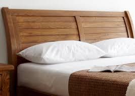 Oak Bedroom Suite Normandy Oak Sleigh Bed Dark Wood Wooden Beds Beds