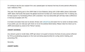 9 fundraising letter templates free