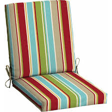 cushions for outdoor furniture patio chair cushions clearance mainstays outdoor patio dining chair cushion red