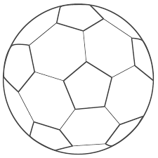 Soccer Ball Colouring Pages Design Templates