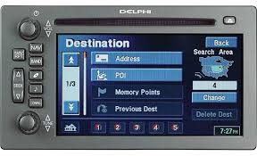delphi tnr800 in dash cd player gps navigation system for select delphi tnr800 front