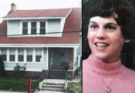 (left) residence where Walsh's body was discovered (right) Catherine Walsh - catherine-walsh