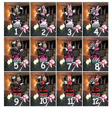 full image for alligator party favors d minnie mouse zebra baby diy first birthday decorations forwardcapital