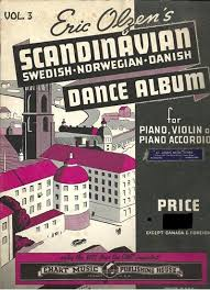 Eric Olzens Scandinavian Dance Album Vol 3 Swedish Norwegian Danish Accordion Songbook
