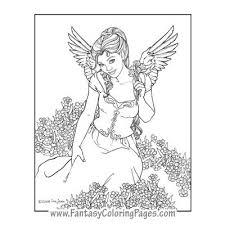 Small Picture fantasy coloring pages FANTASY ANGEL colouring pages page 3
