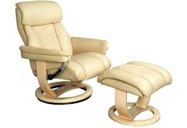 leather swivel recliner chairs chair and footstool