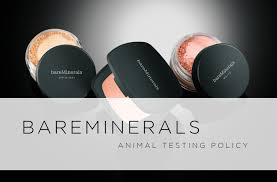 bare escentuals does not test on s and their s aren t sold in china they re therefore free this also includes bare minerals buxom
