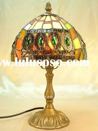 antique glass lamp shade