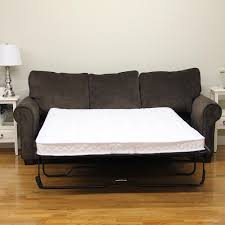 sleep options classic full size innerspring 4 5 in sofa bed mattress write a review