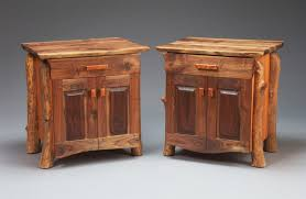 rustic end tables. Rustic-modern-end-tables Rustic End Tables
