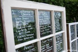 Wedding Seating Chart On Glass Old Window Idea Buy This