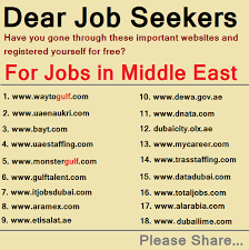 How To Find Job Vacancies In Gcc When You Are On A Visit Visa