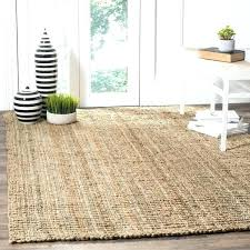 8 foot square rug 8 square rug casual natural fiber hand woven natural accents chunky thick 8 foot square rug