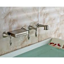 bathtubs bath bathtub hand shower replace tub spout with wall mount waterfall diverter faucet