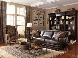 traditional leather living room furniture. Perfect Leather Latest Bernhardt Living Room Furniture Cantor Leather Sofa  Traditional In R