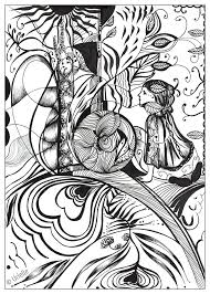 Small Picture 579 best Coloring Pages for Adults images on Pinterest Nymphs