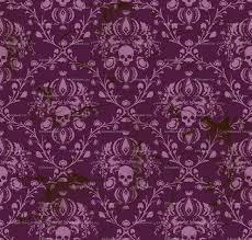 Skull Wallpaper For Bedroom Purple Damask Wallpaper Best Cool Wallpaper Hd Download