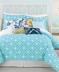 Trina Turk Ikat Twin Comforter Set - Bedding Collections - Bed ... & Trina Turk Trellis Turquoise Twin Comforter Set Adamdwight.com