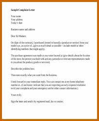 7-8 Formal Letter Complaint | Resumetablet