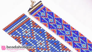 Bead Loom Patterns Mesmerizing How To Read A Bead Loom Pattern YouTube